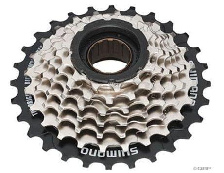 a 7 cog freewheel for a bike