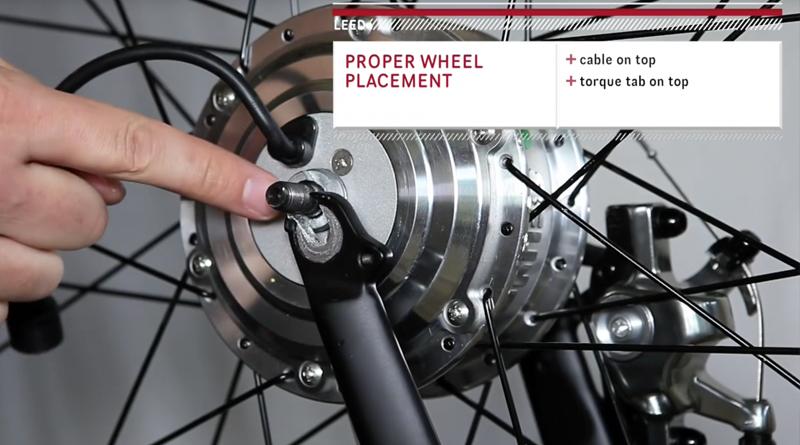 electric bike kit installation clip