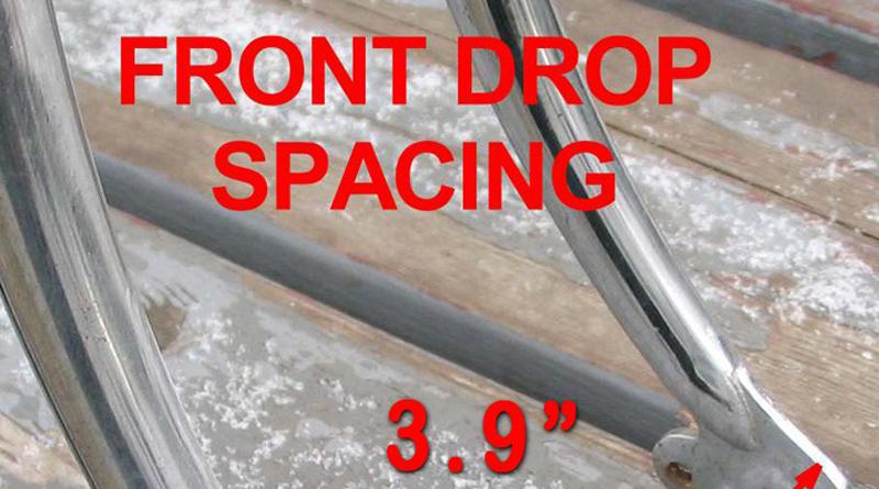 electric bike kit front fork measurement