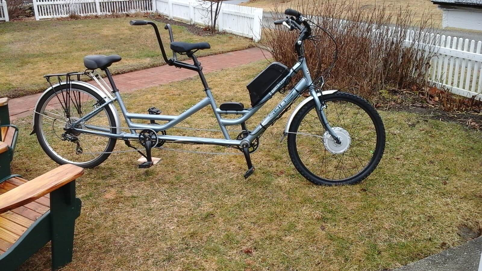 Tandem electric bicycle