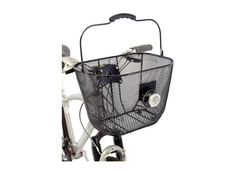 axiom black mesh basket for e-bike batteries