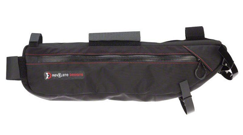 black e-bike battery bag for frame