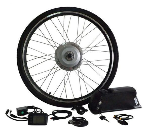 e-bike tube battery kit with a torque PAS