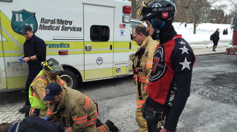 electric bike first aid emergency