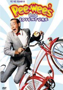 Pee-wee's Big Adventure movie cover