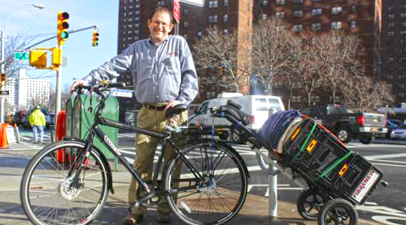 Business uses electric bike kit
