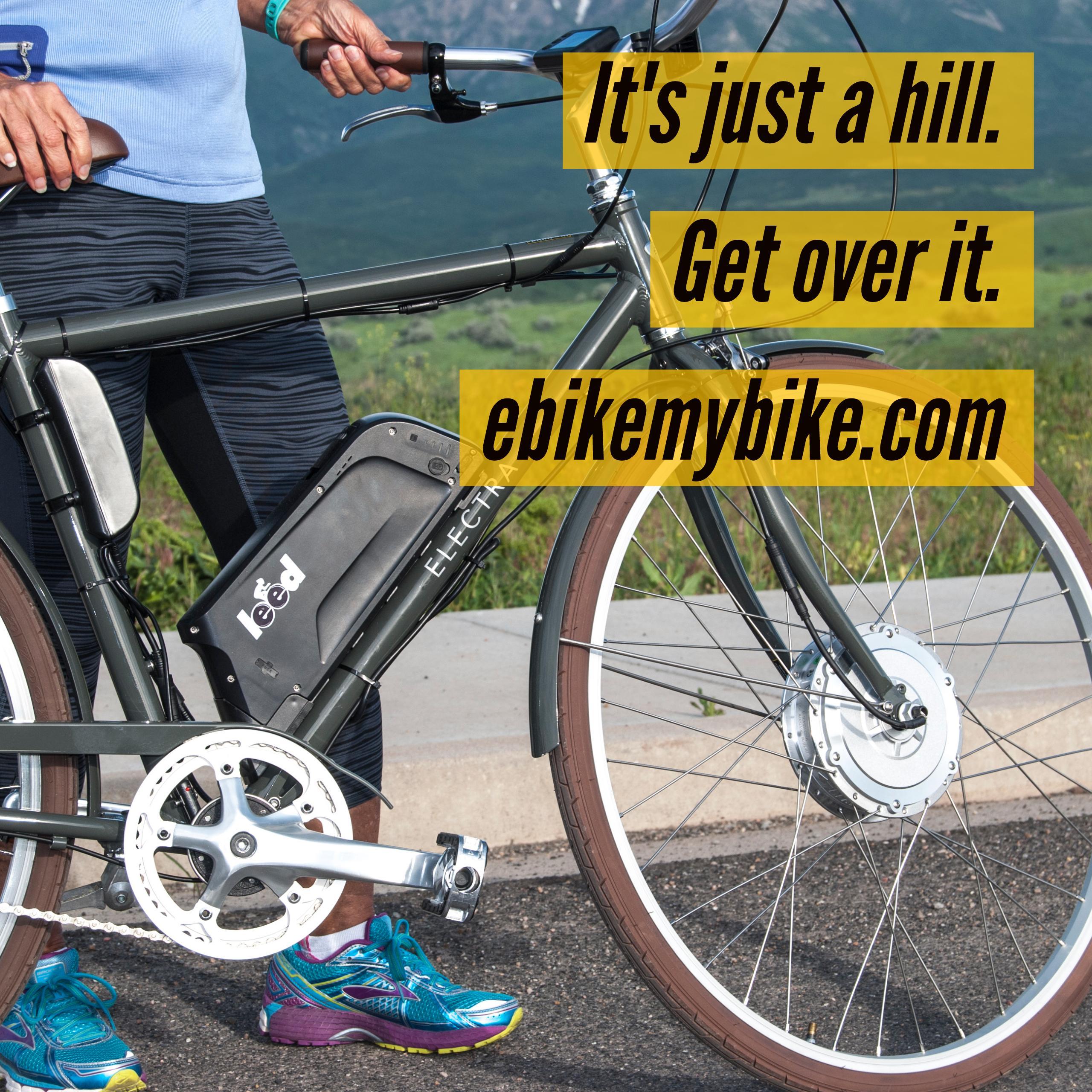 electric bike conversion kit hilltopper