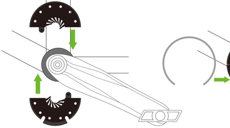 pedal assist kit diagram