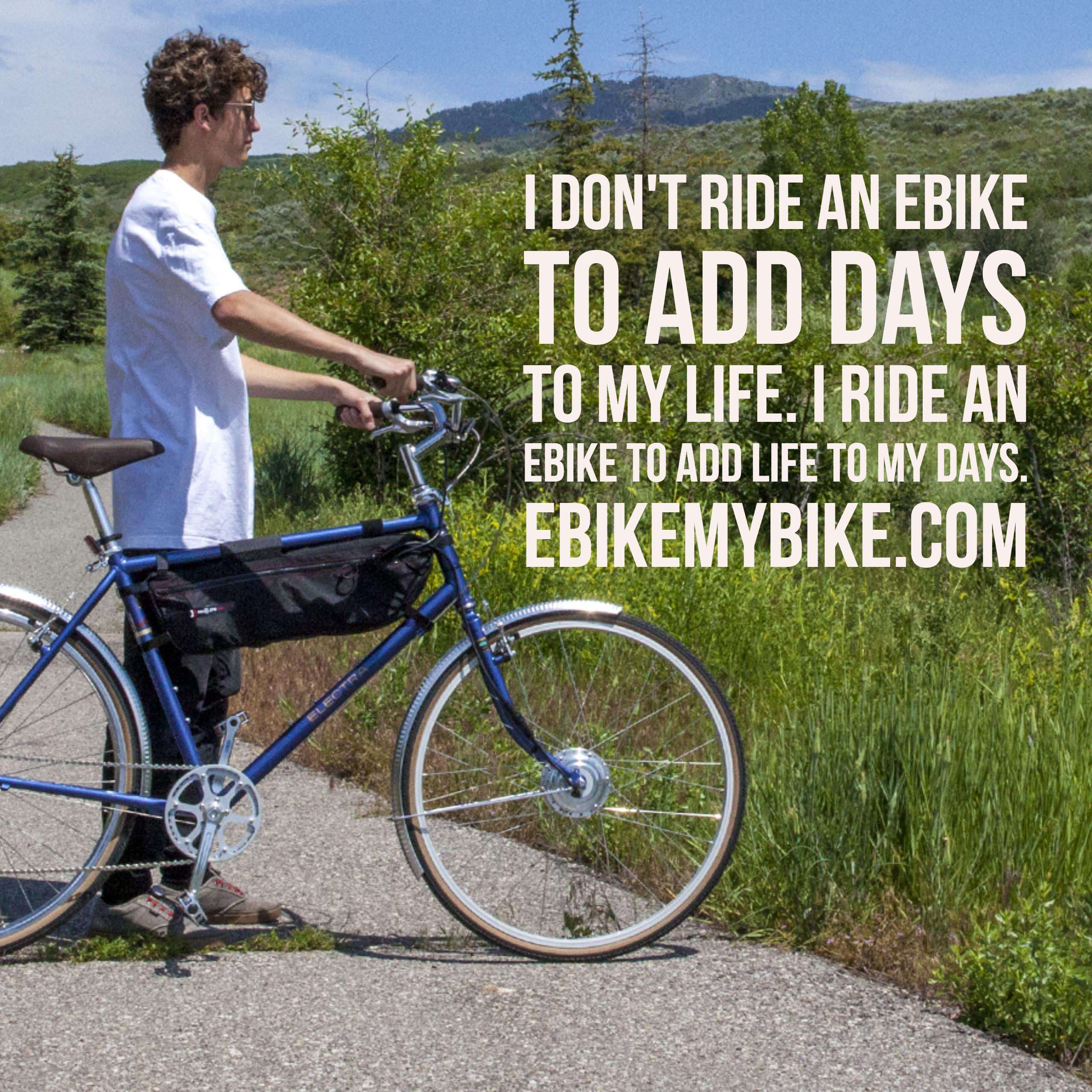 electric bicycle commuting