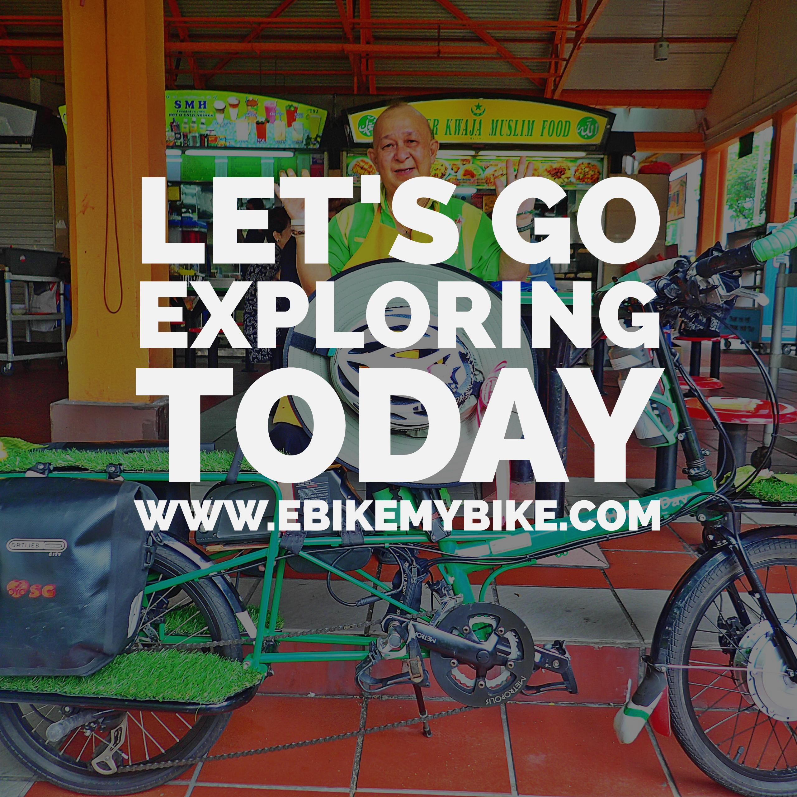 e-bike conversion kit for electric cargo bike