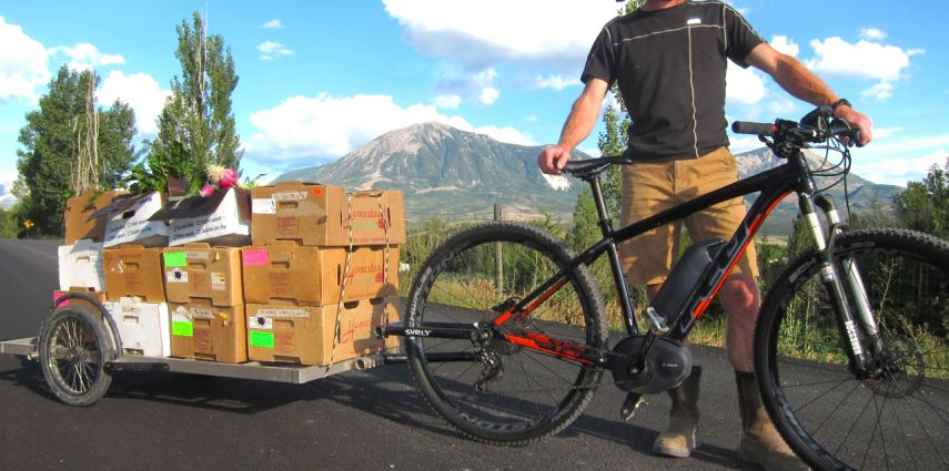 Scott Horner E-Bike Food Deliver