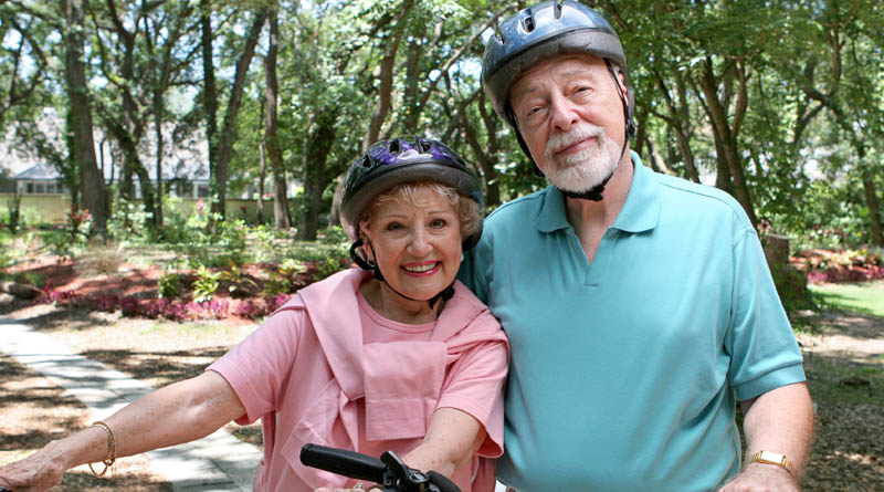 Ride an ebike for Senior Fitness