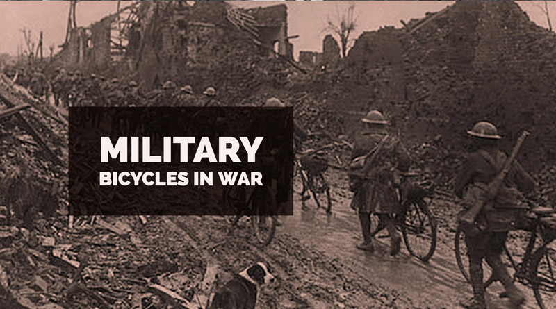 history of military bicycles in war