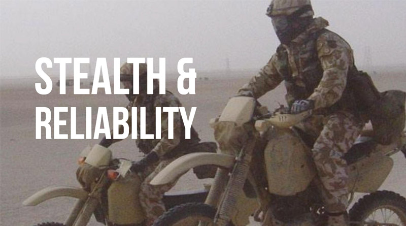 darpa special forces electric bike