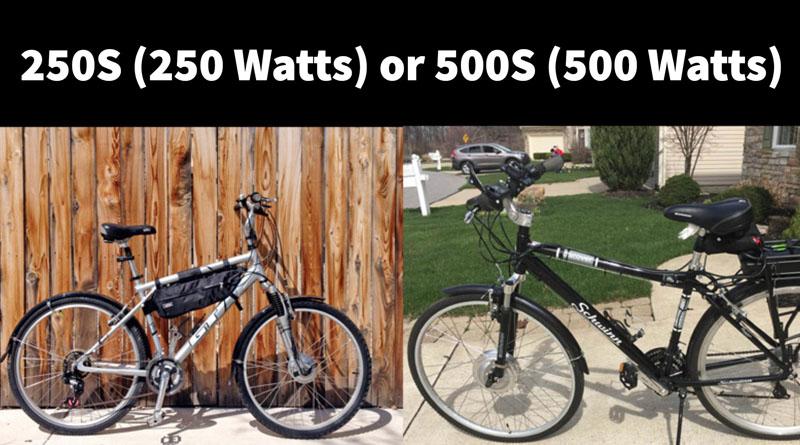 electric bike conversion kit options