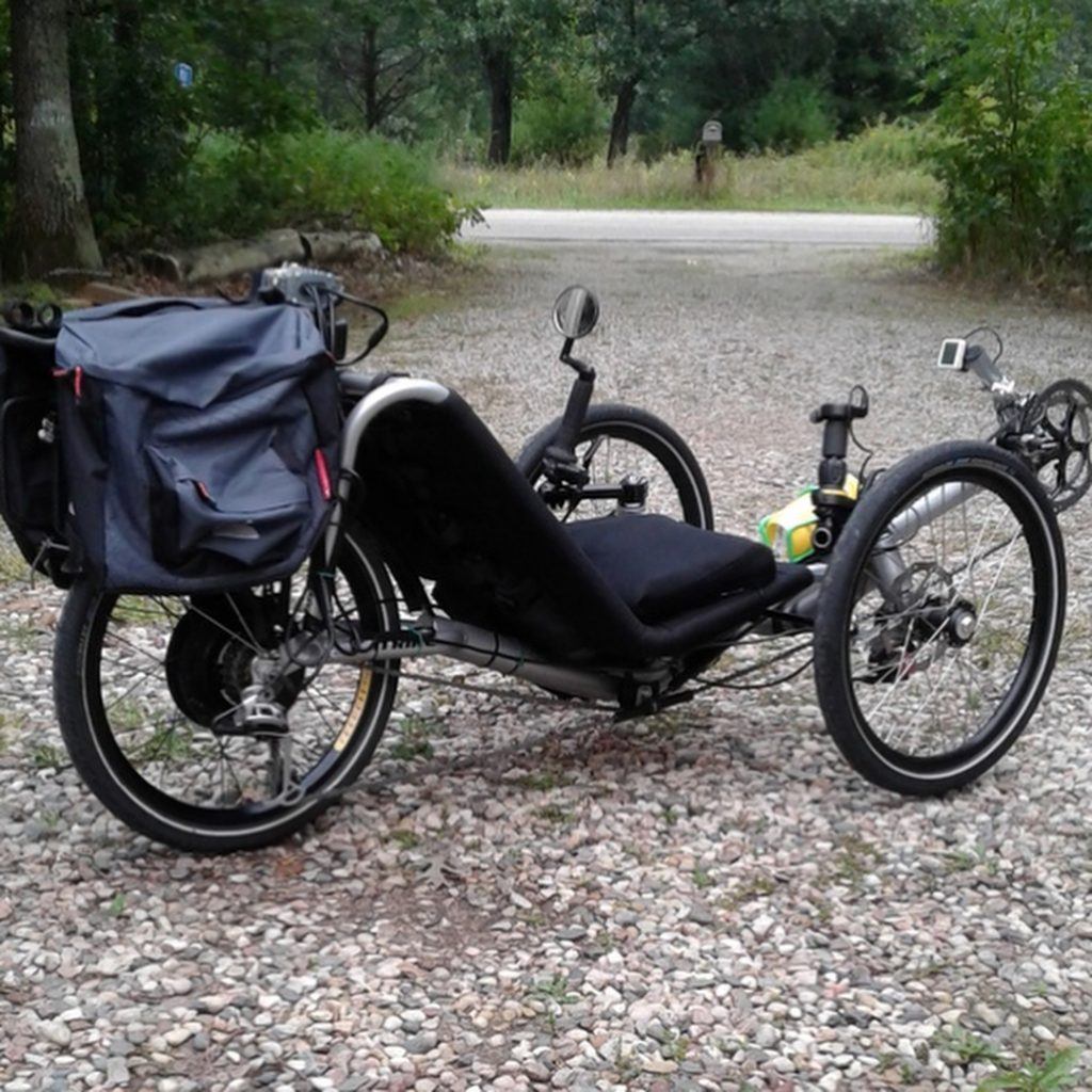 """I put this kit on a Catrike Trail recumbent tricycle, and I love the way it works. The motor is quiet and smooth, with way more power than I'll ever need."" e-bikes"