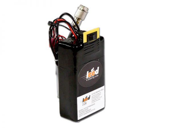 6-4 Ah Panasonic 10k plus Li-ion Battery by Leeds Bikes