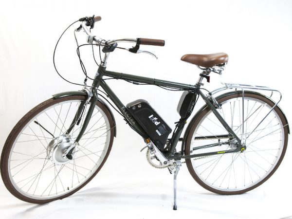 An E-bike with 11 Ah Samsung 35k Li-ion Battery