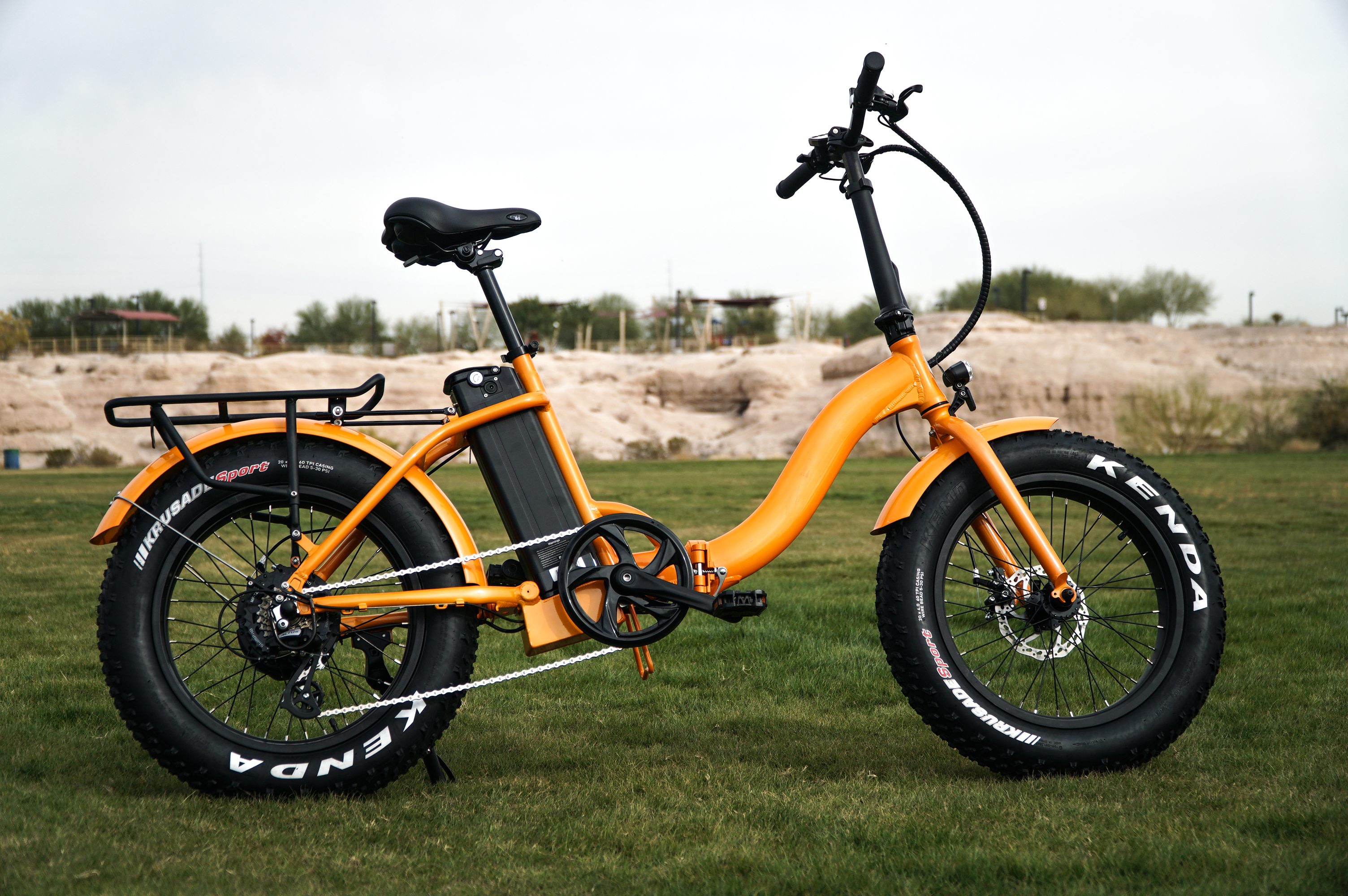 low-step electric bike