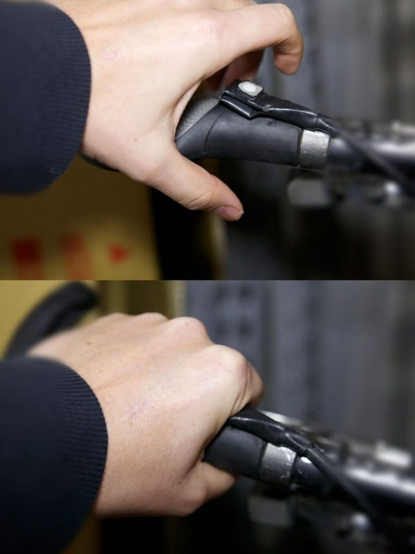 Leeds 5.2 Ah Samsung 10k E-Bike Kit Grip Throttle