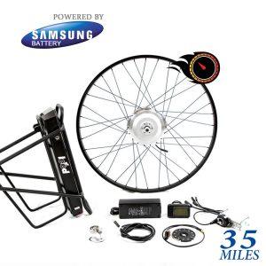 40K Range Electric Bike Kit - 500 Series by Leeds Bikes