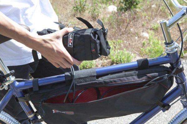 E-bike Battery Frame Bag in Black