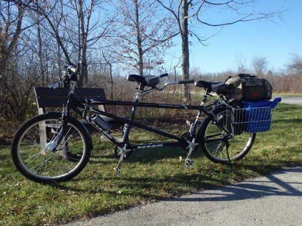 An Ebike with Leeds 24 Volt Electric Bike Kit