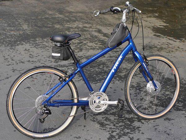 Blue E-bike - Leeds Bikes