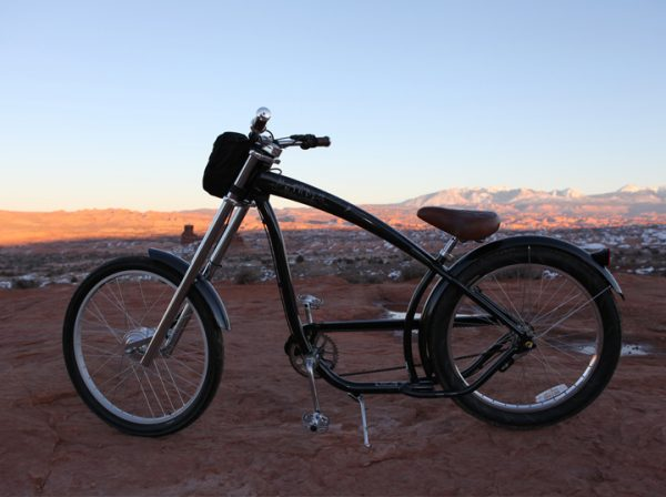 Electric Bike with Leeds Electric Conversion Kit
