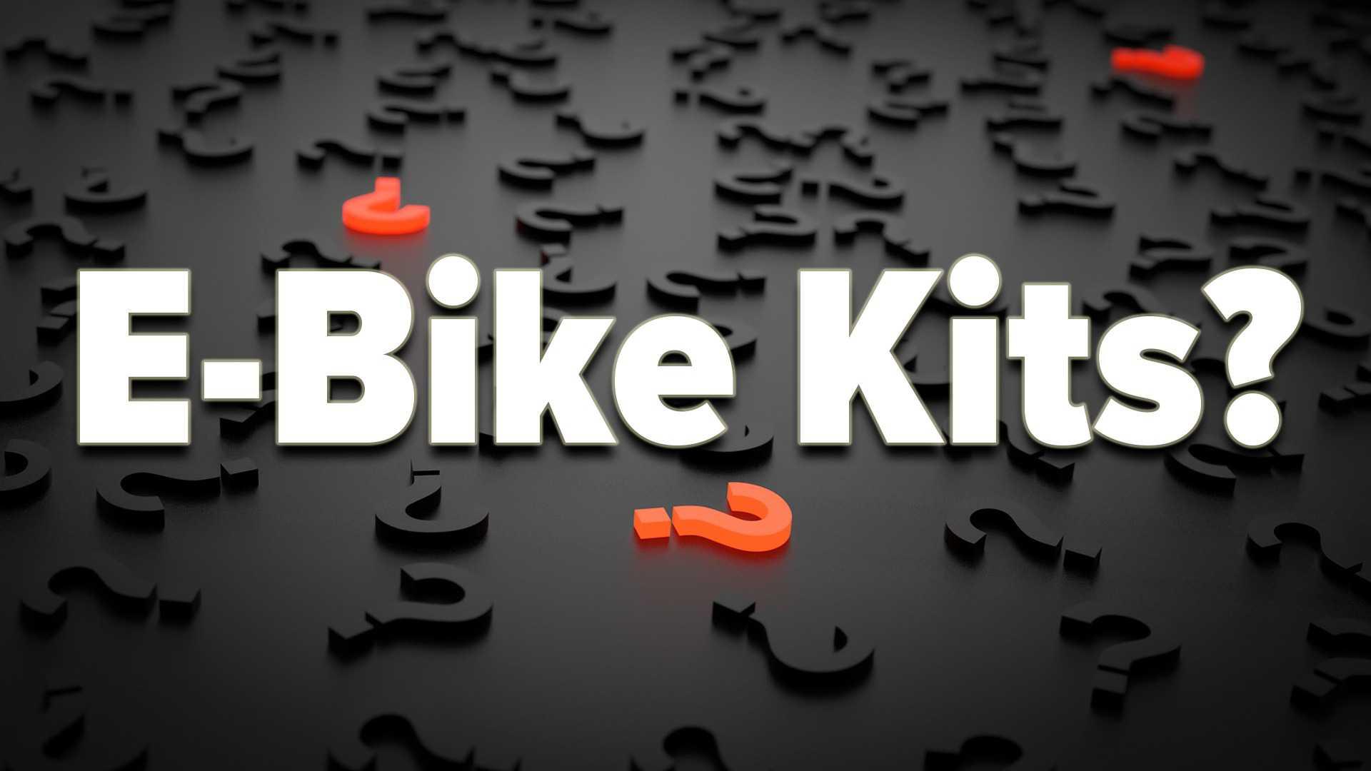 E bike kits banner