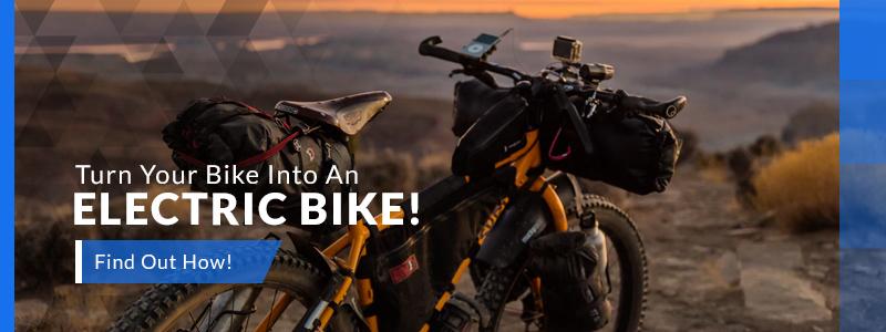 Turn your Bike into an Electric Bike Banner