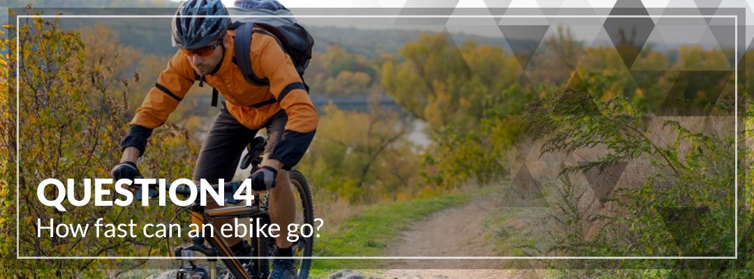 How fast can an ebike go_