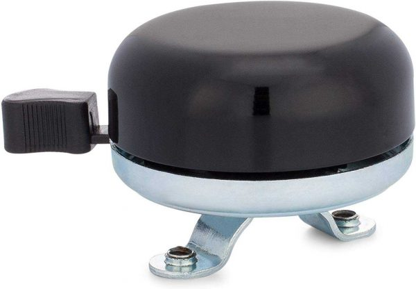 Classic Beach Cruiser Bicycle Bell in Black