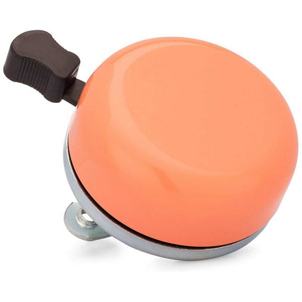 Classic Beach Cruiser Bicycle Bell in Coral