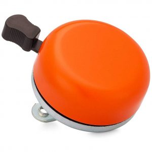 Classic Beach Cruiser Bicycle Bell in Orange