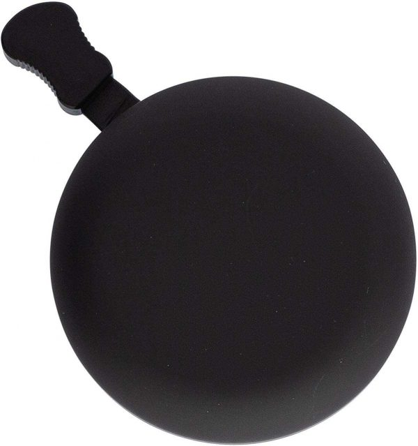 Classic Beach Cruiser Bicycle Bell in Matte Black