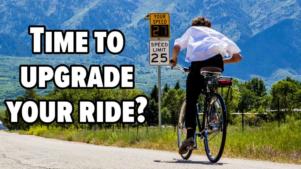 Time to upgrade your ride with Ebike