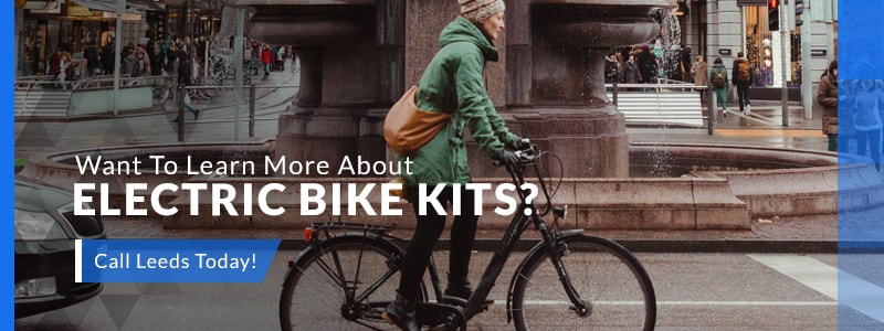 Learn More About E-Bike Kits by Leeds Bikes Banner